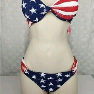 Xhilaration Fourth of July Bikini Bottoms